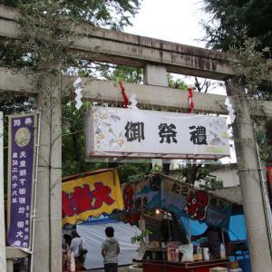 千駄ヶ谷、鳩森八幡の秋祭り