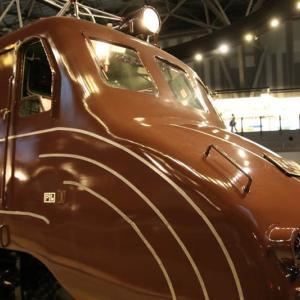 ムーミン顔の機関車