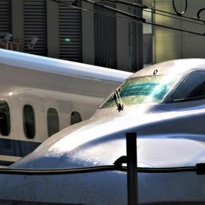 新幹線を有楽町で撮る