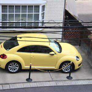 きわどい駐車