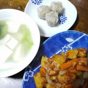 レシピ通りに作った酢豚