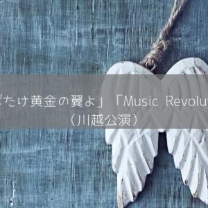 雪組「はばたけ黄金の翼よ」「Music Revolution!」感想(幸せすぎた川越ソワレ)