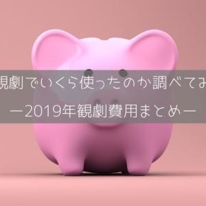 宝塚観劇でいくら使ったのか調べてみた〜2019年観劇費用まとめ〜