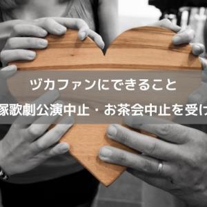 ヅカファンにできること〜宝塚歌劇公演中止を受けて〜