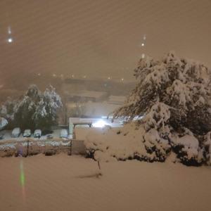 フランスの雪と仕事のこと