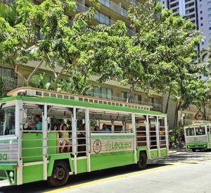 レアレアトロリー(LeaLea Trolley)を割引する方法!1日券ならクーポンで無料!