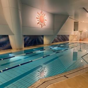 横浜ロイヤルパークホテルのプールとサウナ&スパをブログレポート!フィットネスクラブの価格と眺望は?