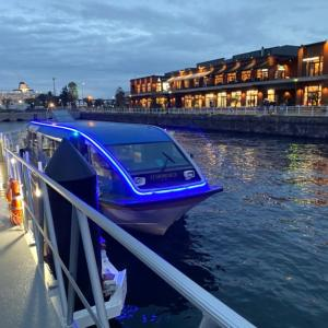 インターコンチネンタル横浜Pier8(ピア8)のクルージングをブログレポート!ホテル専用クルーズ船「ル・グラン・ブルー」の宿泊者アクティビティ!