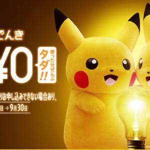 新電力「おうちでんき」への切替はポイントサイト経由がお得!10,000円相当のポイント還元&電気代が2ヶ月間無料!