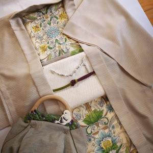 羽織Love☆紋紗の薄羽織