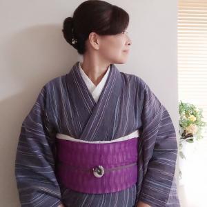 『夏から秋へバッグコレクション』5日目☆今日は紫×ピンクコーデ