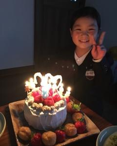8歳おめでとう☆
