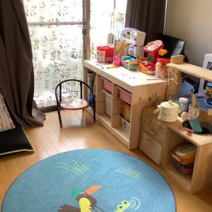 IKEAの家具で子供のおもちゃを収納