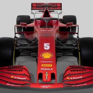 2020新車をみる フェラーリSF1000