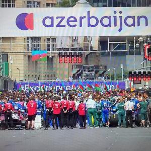 F1第6戦 アゼルバイジャンGP決勝