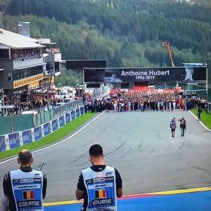 F1第13戦 ベルギーGP決勝