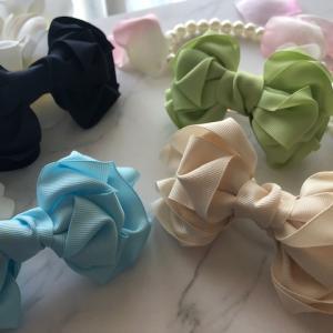 kiki ribbon:ルアナリボン★バックチャームにしても可愛いリボンです