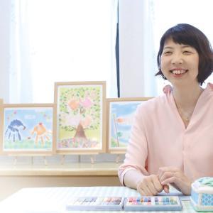 大型手形アート/卒園記念の壁画アート