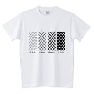 「どのデニール?」 のオリジナルTシャツのデザインをアップしました。