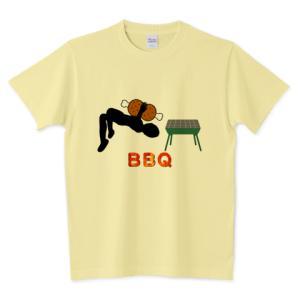 「BBQ」 のオリジナルTシャツのデザインをアップしました