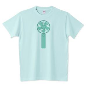 「ハンディファン」 のオリジナルTシャツのデザインをアップしました