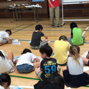 JAL紙ヒコーキ教室