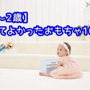 【1歳~2歳】買ってよかった!赤ちゃんが喜ぶおもちゃ!