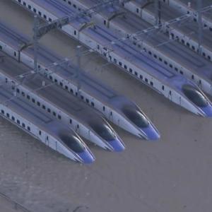 【悲報】長野新幹線車両センターで新幹線水没!数十億円ぶっとぶ!【千曲川決壊】