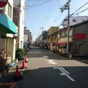 千鳥橋の稲荷社(大阪市此花区)