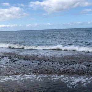 2019年10月22日、小松海岸キス釣り