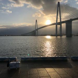 2019年12月3日、新湊キス釣り