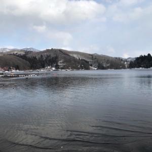 2020年2月23日、野尻湖ワカサギ釣り