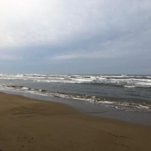 2020年9月20日、千里浜キス釣り