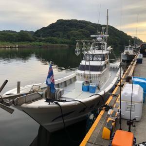 2019年8月9日、塩屋沖イカメタル