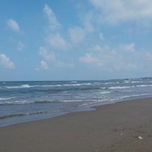 2019年8月25日、GFG北陸 投げ釣り大会 in 千里浜