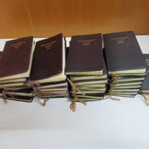 45年分の手帳
