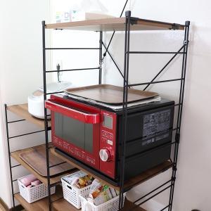 食器棚を持たないミニマリストのキッチン収納。
