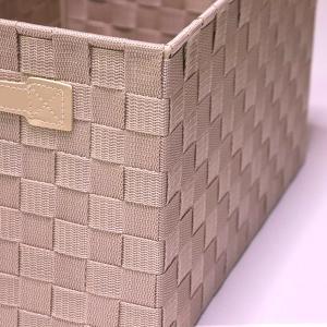 ニトリのアイテムを使ったリビングの収納方法。