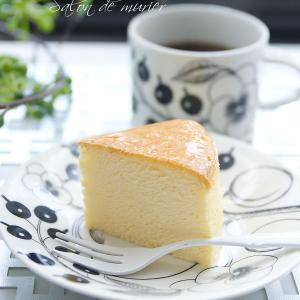 コンベクションオーブンでスフレチーズを焼く方法