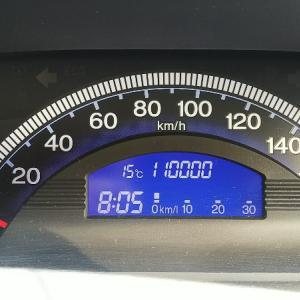 フリードスパイク 110,000km