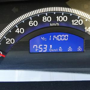 フリードスパイク 114,000km