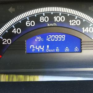 フリードスパイク 121,000km