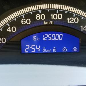 フリードスパイク 125,000km