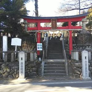 御朱印巡り② 鷺宮咲前神社