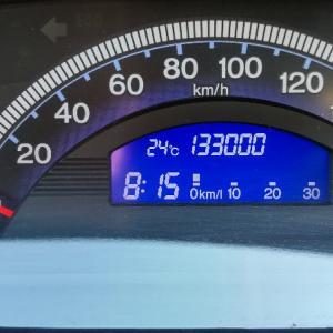 フリードスパイク 133,000km