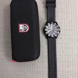 父から夫へ時計を譲ってもらう