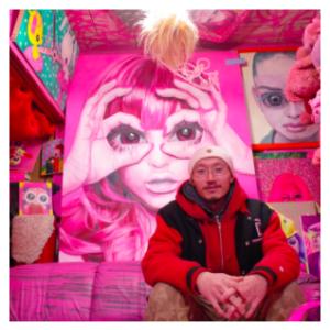 【珍スポット】住宅街に突如現れる謎のピンクの家屋!!
