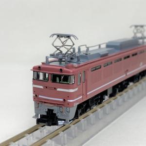 EF81 600番台(735号機)が入線です。TOMIX 7101