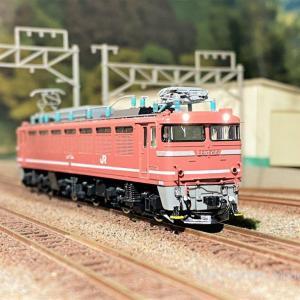 EF81 600番台(735号機)を弄る。TOMIX 7101