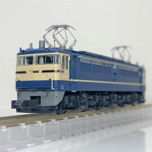 EF65 500番台 P形特急色(JR仕様)が入線しました。KATO 3060-3